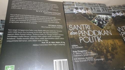 Buku santri dan pendidikan politik